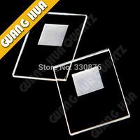 XRD Quartz glass sample sink /silica glass/sample pool
