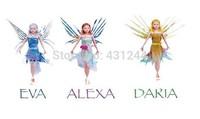Magic Children Gift Fashion Girls Doll Flitter Fairies Flying Fairies Daria Alexa Eva Electronic Toys Learning & Education Toy