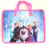 Free Shipping 12pcs Frozen cartoon kids Paper bags  Handbag School bag Shopping Bag