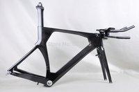 Carbon bike tt frame, tt bicycle frame, T700 bike frame for sale FM086