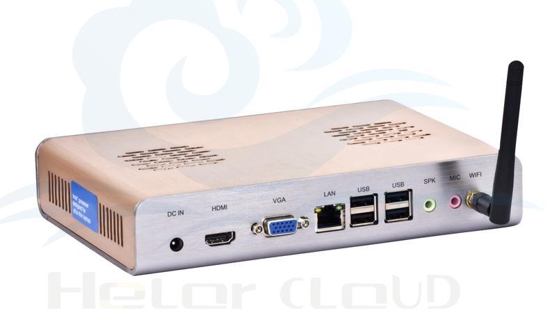 Small micro industrial pc computer station intel N2800 Atom dual-core 8gb ram 320gb ssd support HD video thin client Mini pcs(China (Mainland))