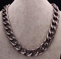 men jewelry chain necklace 20mm, multi color necklac , men's necklace chain free shipping  FSN018-C
