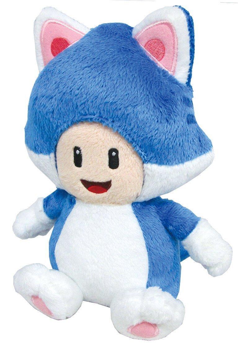 Плюшевая игрушка Super mario 3D Neko Cat 7,5 Neko Cat Toad плюшевая игрушка super mario bros ems 30 u neko 9 st003