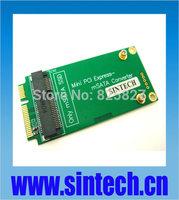 3x5cm mSATA Mini SATA adapter card as 3x7cm mini PCI-e SATA SSD for ASUS EEE PC 900/900A/901