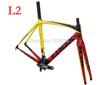 2014 free shipping look 695 L9 road frame carbon bicycle frameset  +fork+seatpost+clamp+headset+Stem,Free shipping! C59 \De rosa