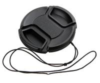 DSLR Camera Lens Cap 52mm Diameter Mount Cover For NIK0N AF-S 18-55mm / 35mm f/1.8G / EF 50mm f/1.8 II 52mm / DA 18-55mm Lens