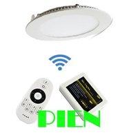9W 12W Wifi led downlight 2.4G color adjustable+remote control+Wifi hub controller Mi light 110V-240V Free Shipping 1set