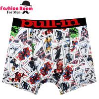 Newest  Famous Brand Men's Solid UnderwearShorts modal Underwear Boxers Men shorts Size S/M/L/XL