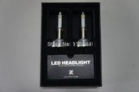 2014 New 2Pcs/1Set  2nd Car CREE LED H1 H3 H7 H8 H9 H11 9005 9006 xenon hid Headlight Bulbs 20W 2400LM  Free Shipping