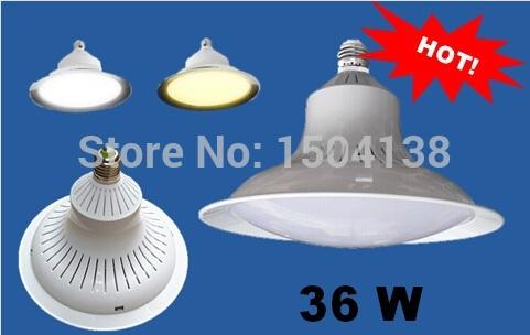 15W 30W 36W 50W high power LED bulb LED saucer bulb highbay light(China (Mainland))