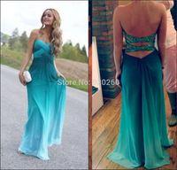 Sweetheart A Line Mimi Color Vestidos de festa vestido longo 2014 Backless Prom Dresses Real Sample Evening Dresses Custom Made