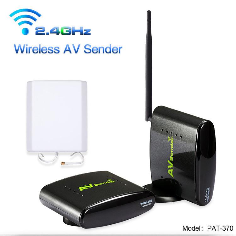PAT-370 With EU Adapter 2.4GHz Wireless 500m AV Sender TV Audio Video Transmitter Receiver(Hong Kong)