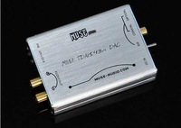 Muse Hi-Fi Fever DAC DIR9001+TDA1543 parallel connection NOS DAC Silver