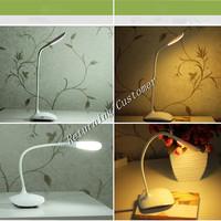 10pcs wholesale mini Fashional Touch sensor switch table lamp bedroom reading LED lamp