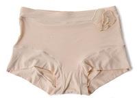 F10361 Plus size Mid High Waist Collagen Women Boyshorts Womens Panties Underwear Briefs for Lady + Freeshipping