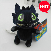 Free Shipping How To Train Your Dragon Toothless Plush Toy Anime Cartoon Movie Figure Plush Doll Stuffed Toy Kids Gift