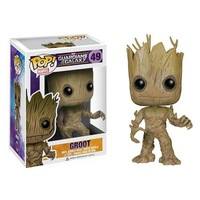 PRE SALE! New! Genuine funko pop Guardians of the Galaxy 49 groot vinyl figure 3.75 inch vinyl figure toys child gift40