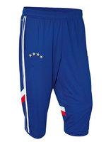 Sales promotion  !!   Thailand Quality A+++    ROBBEN  Muller   Gotze  Blue   soccer pants   seven-tenths trouses 2014