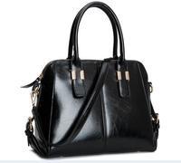 Famous Brands Handbags 2014 Hot Women Genuine PU Leather Bags Women Handbag Fashion Tote Vintage Bag Shoulder Bags Portable Bag