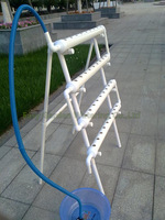 Hydroponics system NFT with 36pcs of net cup. Nutrient Film Technique (NFT) Free shipping