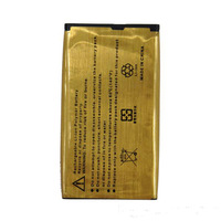 wholesale free ship DHL 50 pcs 2680mAh High Capacity Replacement Gold Battery For BlackBerry Q10 N-X1 i8190