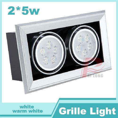 Растровый светильник RIlong 5 * 2 10W ac85/265v rl41/0002/10 RL41-0001-10 irz rl41 4g