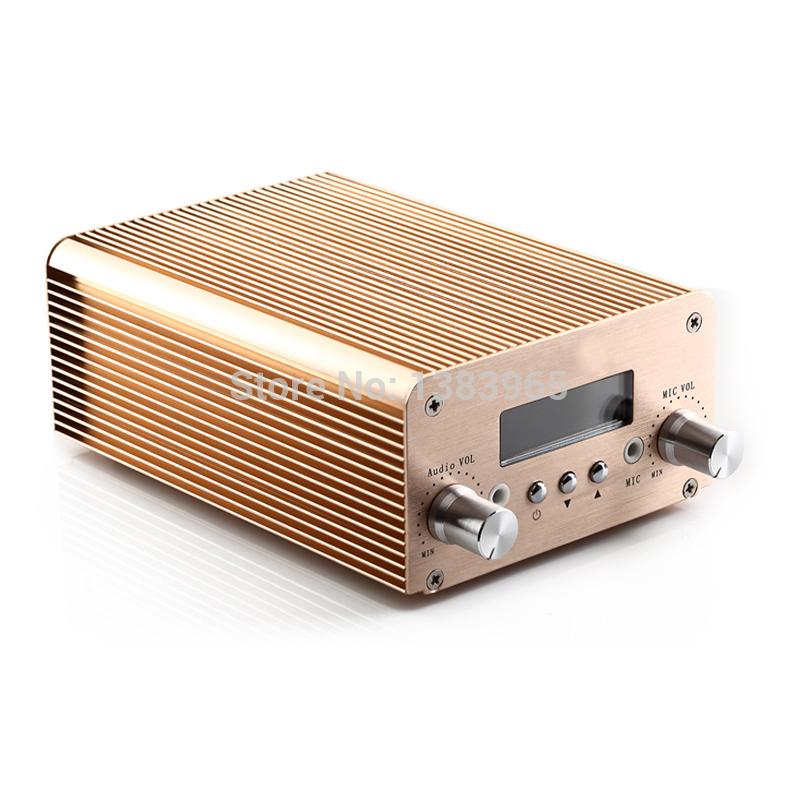 Stereo fm transmitter fm transmitter 10w 2w pc bluetooth wireless public broadcasting(China (Mainland))