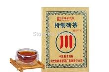 500g/pcs Black Tea China green brick tea chocolate shape help lose weight health Chinese Brick Tea