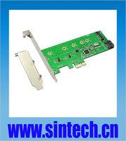 SINTECH M.2 NGFF +SATA 3 PCI-e express controler adatper Marvell 88SE9120