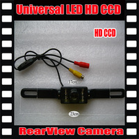 Universal 8 LED Auto Parking HD CCD Car Rear View Camera rearview parking Camera Reverse backup Camera Free Shipping
