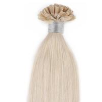 U-tip/Nail Pre-bonded Hair Extension Straight Hair Platium Blonde Hair Color(#60) 100g/pack 200S 0.5g/Strand