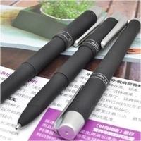 1228 1.0mm signature pen pen black scrub handsomeness unisex pen 12 pieces