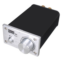 Mini Audio Amplifier Muse M50 TPA3123 T-Amp 50W RMS Mute Input 2 Channels - Sliver