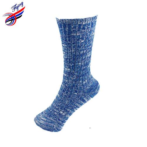 FLYING High Quality 2014 Winter Socks Women Calcetines,Long Pure Color Needle Elastic Women Socks Cotton,Ladies Thermal Socs Sok(China (Mainland))
