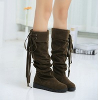 Free shipping half boots women lady boot winter footwear wedge shoes fashion sexy snow warm 2539
