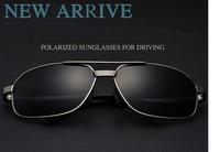 sunglasses polarized 2015 Best Quality Cycling driving sunglasses aviator sunglass + box + cloth free shipping