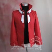 Free Shipping Yu-Gi-Oh! GX Yuuki Juudai Cosplay Costume  red jacket and black t-shirt