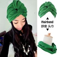 2015 designed girls 100% cotton head turban head wrap