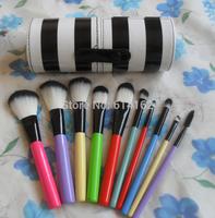 3 pcs FREE SHIPPING MAKEUP 10 brush set