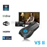 Full HD 1080p ezChromecast Digital HDMI Streamer Media Player Chrome Cast Wifi display dongle V5II Vsmart tv Stick