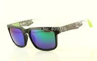 Hot Selling Fashion Acetate Sunglass Designer Sunglass Men's/Women's Brand Helm Black Sunglass Green Lens 57mm Polarized Box