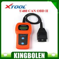 2014 Free Shipping Original XTOOL U480 OBD2 OBDII Car/Truck AUTO Diagnostic Engine Scanner Fault Code Reader