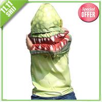 Dual 11 promotional fashion crocodile suit 100% cotton hoodies free shipping