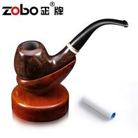 Zobo smoking pipe calamander wood paint quality gift box packaging