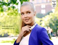 100% original New fashion  sport  bluetooth  earphone  neckband bluetooth headset  long standby general binaural wireless phone