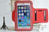 300pcs Bracadeira Para Celular New Sport Running Pure Color Arm band Case Cover for iPhone 6+ Plus