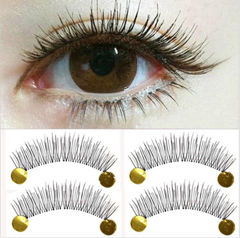 10Pair New Makeup False Eyelashes Soft Natural Cross Long Eye Lashes Extension(China (Mainland))