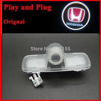 Car Door Welcome Logo Projector LED Emblem Laser Light for hondaAili gentry plug and play original car logo light