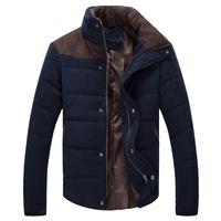 Hot casual men's winter jacket coat slim autumn winter men jacket parka