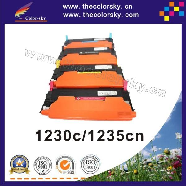 (CS-DC1230) тонер-картридж для Dell 1230c 1235cn 1230 1235 330-3578 330-3012 330-3581 330-3015 kcmy 1.5 К/1 К бесплатная FedEx ecw24 1230c